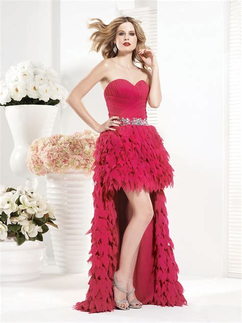 s68 | www.vnaix.cn hot pink short frong and long back prom ...