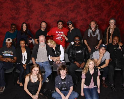 Although some characters appear in both the television and comic series. File:The Walking Dead cast 2013.jpg - Wikimedia Commons