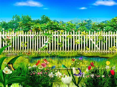 flower garden wallpaper free http refreshrose