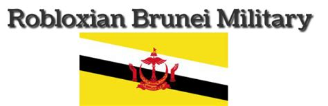 Robloxian Brunei Military - Home