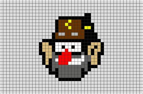 gravity falls grunkle stan pixel art brik