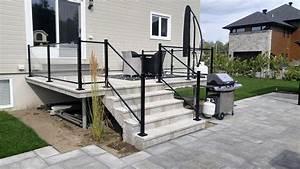 cloture en verre pour terrasse 3 balcons et With nice amenagement terrasse et jardin photo 16 deco salle de bain douche