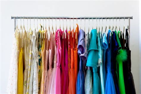Color Coded Closet by How To Easily Organize Everything In Your Closet For Cheap