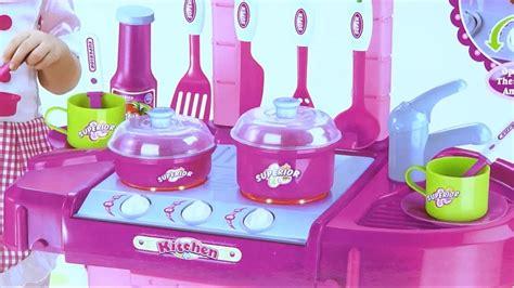 cocina de juguete cocinita  ninas  accesorios se