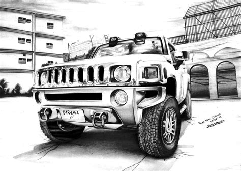 Hummer H3 By Tkddesign On Deviantart