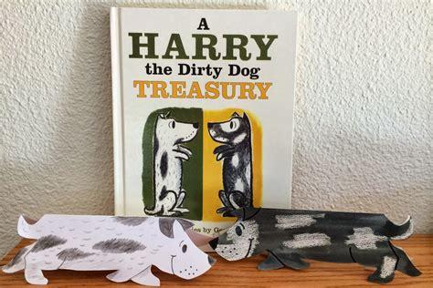 kathys art project ideas harry  dirty dog storybook