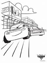 Race Disney Cars Crayola Coloring sketch template