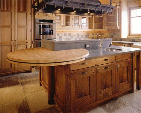 cuisine et comptoir comptoir en bois pour cuisine image sur le design maison