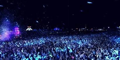 Festival Rock Gifs Rave Concert Crowd Party