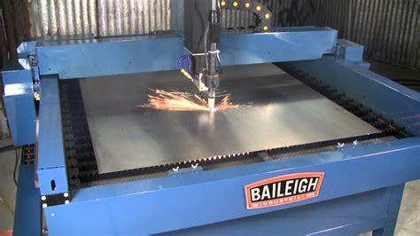 cnc plasma table price baileigh industrial pt 44s plasma table youtube