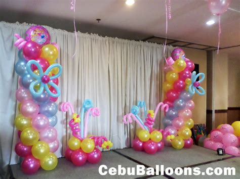 latex foil balloons  parties cebu balloons