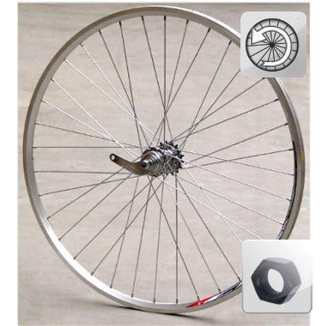 chambre à air vélo route roue vélo avec frein rétropédalage 700