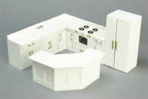 kitchen dollhouse furniture white kitchen cabinets in 1 quot scale from fingertip fantasies dollhouse miniatures
