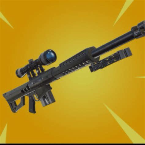 nouveau fusil de sniper lourd  verrou barrett fortnite