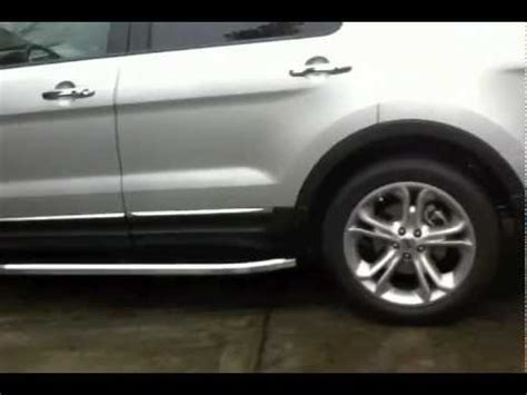 dee zee dz  running boards   ford explorer walk