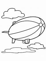 Coloring Air Pages Balloons Balloon Printable sketch template