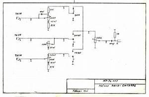 Hofner 173 Solid Guitar Schematic Diagram