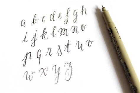 Fake Calligraphy Tutorial  Katz & Tintekatz & Tinte