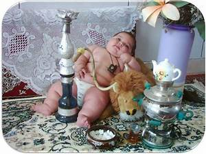Funny Picture cute fat boy smoking | Pak101.com