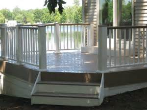Azek Porch Decking Colors by Azek S Solid Pvc Decking Compared To Timbertech S New