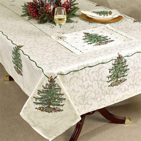 christmas tablecloth christmas tablecloth design and decoration ideas christmas celebration