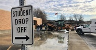 Water main break causes flooding, closes 3 Lakota schools ...