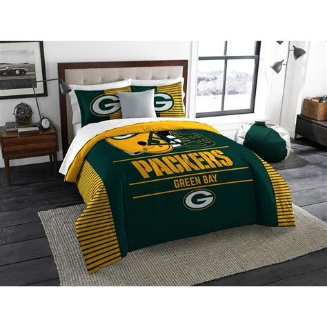 green bay packers nfl comforter set w shams officially