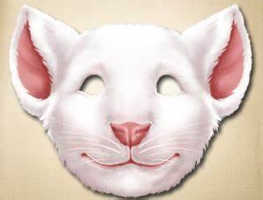 printable mouse mask template - printable mouse mask the printable mask shop
