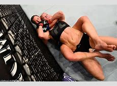 Holly Holm to Miesha Tate I'm not going to let you choke