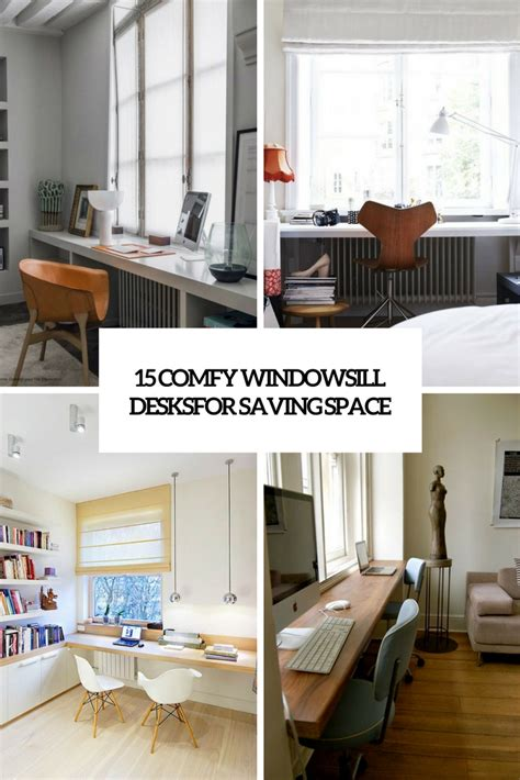 The Windowsill by 15 Comfy Windowsill Desks For Saving Space Shelterness