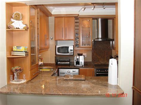 Beech Kitchen Cupboards