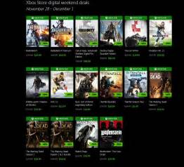 microsoft xbox one black friday leaked until cyber monday 1128 121