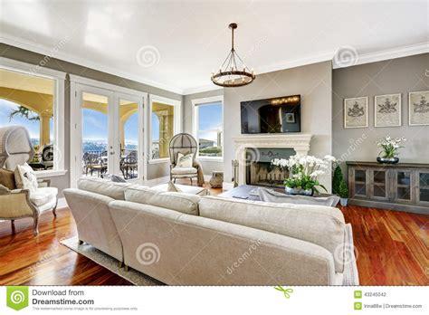 cuisine int 195 169 rieur impressionnant de salon dans la maison de luxe photo interieur maison design