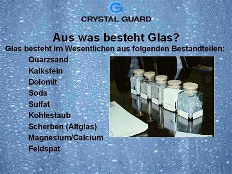 Aus Was Besteht Glas?