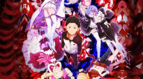 anime fantasy thriller re zero starting life in another world anime review