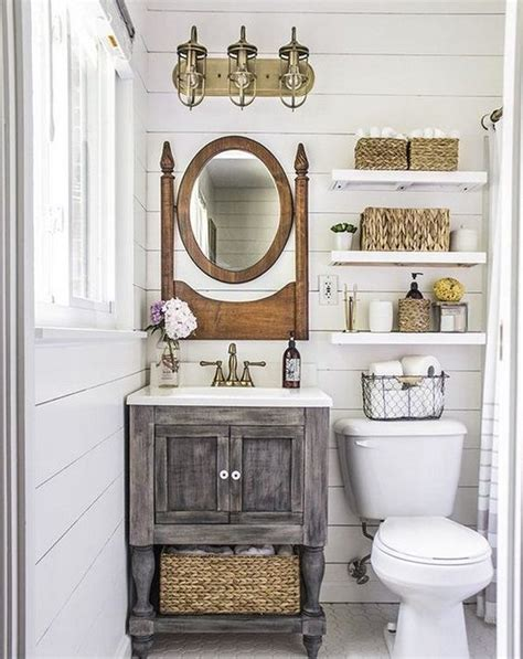 country bathroom decorating ideas ideas para decorar ba 209 os r 218 sticos 2017 hoy lowcost