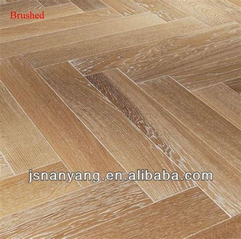 Made In China White Oak Herringbone/fishbone Engineered