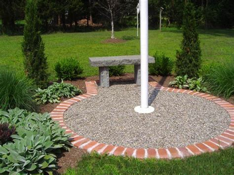 yard flag pole best 25 flag pole landscaping ideas on front 1204