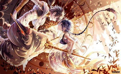 Anime Magic Wallpaper - ost magi the kingdom of magic link mega