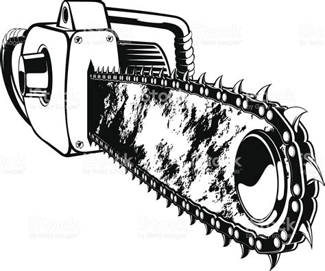 clipart vector chainsaw clipart vector pencil and in color chainsaw
