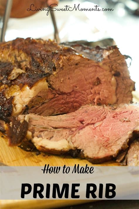 how to make prime rib how to make prime rib roast a tutorial living sweet moments