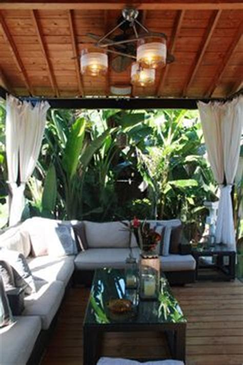 1000 ideas about tropical backyard on