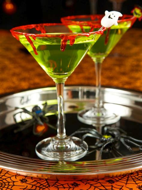 Zombie Slime Shooters Halloween Cocktail Recipe Hgtv
