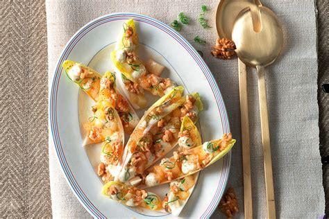 ricette cucina italiana antipasti ricetta indivia con pere noci e taleggio le ricette de