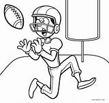 Coloring Pages Football Printable Sheets Cool2bkids Player Whitesbelfast Clipartmag Zombie Drawing sketch template