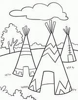 Coloring Native Americans American Printable Mandala Popular sketch template