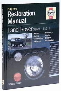 Haynes Land Rover Series Restoration Guide  222