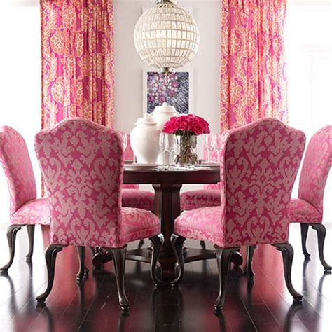 tickled pink dining room  attitude ethan allen pink dining rooms luxury dining room