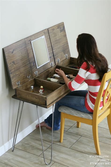 makeup vanity woodworking plans woodworking