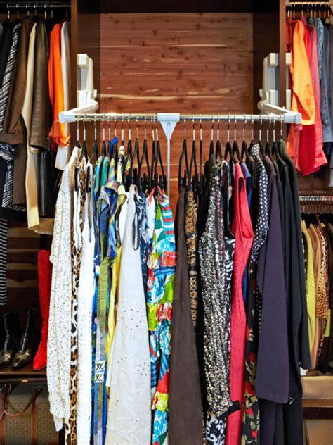 Clothes Rod For Closet by Closet Storage Ideas Hgtv